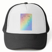 Beautiful Sarcoma Butterfly Trucker Hat