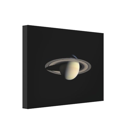 Beautiful Saturn Gallery Wrapped Canvas