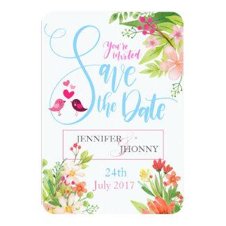 Beautiful Save The Date Wedding Invitation