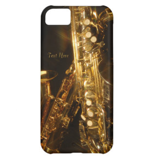 Beautiful Saxaphone iPhone 5 Case