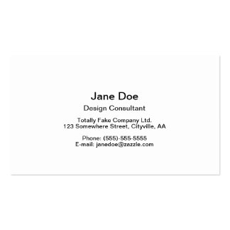 Beautiful Scalloped Peacock Feathers Business Card