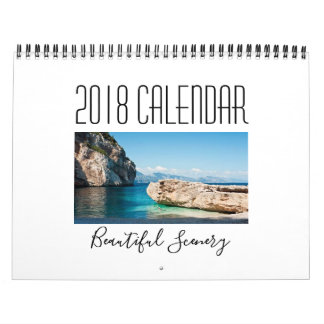 Beautiful Scenery 2018 Calendar