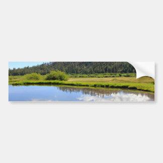 Beautiful Scenery Bumper Sticker