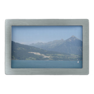 Beautiful scenery in Switzerland Belt Buckles