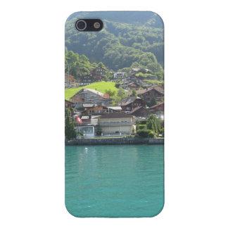 Beautiful scenery on Lake Thun in Switzerland iPhone 5 Cases