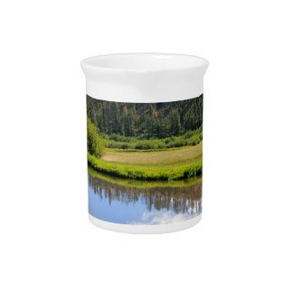 Beautiful Scenery Drink Pitcher
