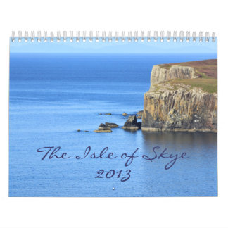 Beautiful Scenes from the Isle of Skye: Landscapes Wall Calendars