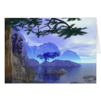 Beautiful Scenic Lake Greeting Card