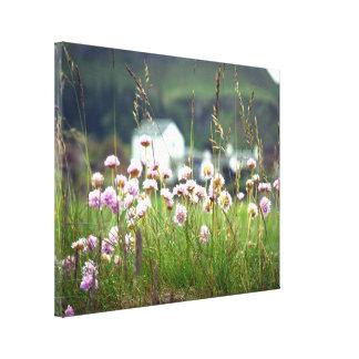 Beautiful Scenic Scottish Landscape Picturesque Canvas Print