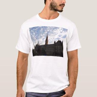 Beautiful school building and sky T-Shirt