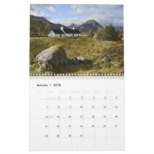 Beautiful Scotland Calendar 2011