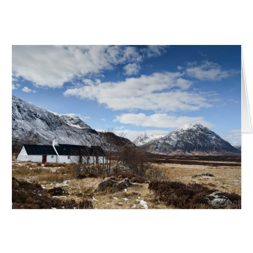 Beautiful Scottish Landscape Greeting Cards