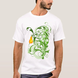 Beautiful Scrollwork with Pear T-Shirt