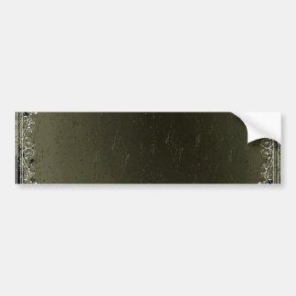 Beautiful sea green texture bumper stickers