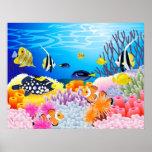 Beautiful sea life print