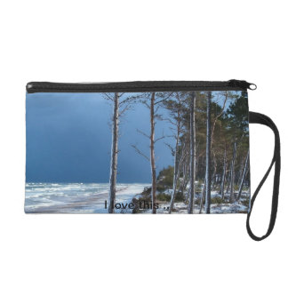 Beautiful Sea Shore wristlet