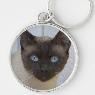 Beautiful Seal Point Siamese Cat Key Chain