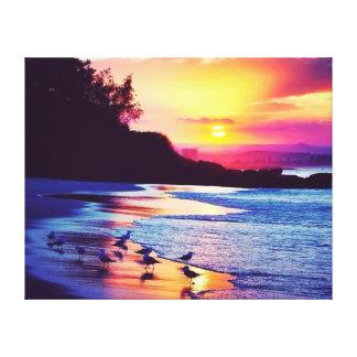 Beautiful Seascape 2 Design Canvas Print