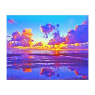 Beautiful Seascape 3 Design Canvas Print
