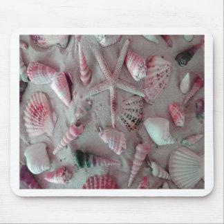 Beautiful Seashells Mouse Pad