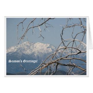 Beautiful Season's Greetings Card! Card