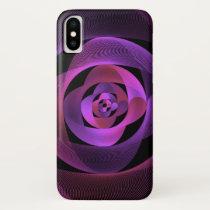 Beautiful semicircle pattern iPhone XS case