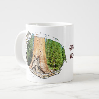 Beautiful Sequoia Jumbo Mug! Large Coffee Mug