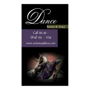Beautiful & Sexy Dancers Business Cards profilecard