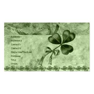 Beautiful Shamrocks Business Card
