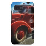 Beautiful Shiny Antique Red Fire Truck Art HTC Vivid Cover
