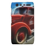 Beautiful Shiny Antique Red Fire Truck Art Droid RAZR Cover