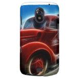 Beautiful Shiny Antique Red Fire Truck Art Galaxy Nexus Covers