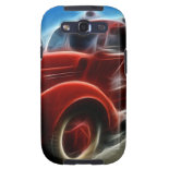 Beautiful Shiny Antique Red Fire Truck Art Samsung Galaxy S3 Cover