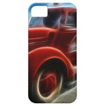 Beautiful Shiny Antique Red Fire Truck Art iPhone 5 Case