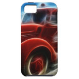 Beautiful Shiny Antique Red Fire Truck Art iPhone 5 Cases
