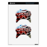 Beautiful Shiny Antique Red Fire Truck Art Xbox 360 Controller Skins