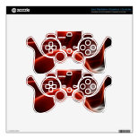 Beautiful Shiny Antique Red Fire Truck Art Skin For PS3 Controller