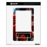 Beautiful Shiny Antique Red Fire Truck Art Skin For The NOOK