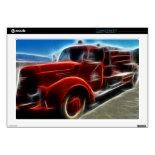 Beautiful Shiny Antique Red Fire Truck Art 17