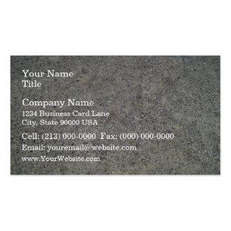 Beautiful shot of Sand dunes Texture Business Card