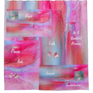 Beautiful Shower Curtain, Little on The Crazy side Shower Curtain