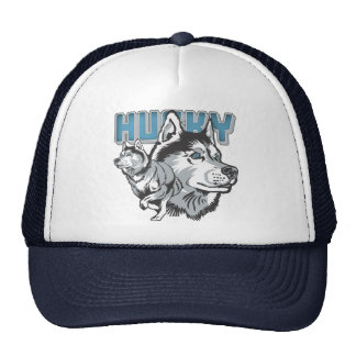 Beautiful Siberian Husky Trucker Hat