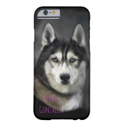 Beautiful Siberian Husky Tough Phone Case