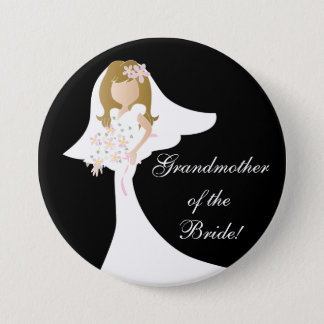 Beautiful, Simple, and Fun Bridal Party Button