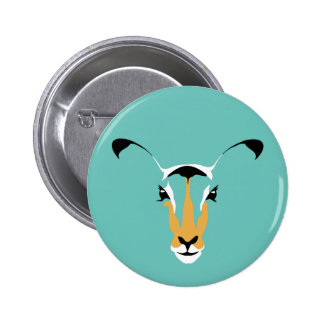 Beautiful, Simple DEER Design 2 Inch Round Button