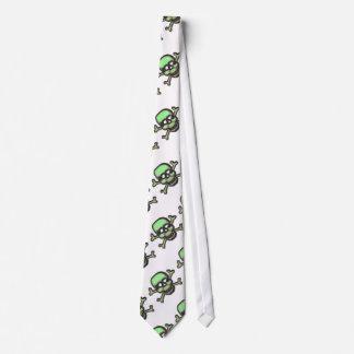 Beautiful Skull and Crossbones Tie