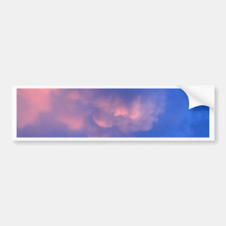 beautiful sky  and  cloud bumper stickers