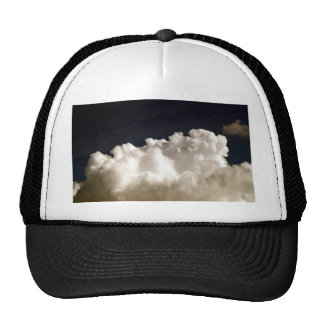 beautiful sky  and  cloud trucker hat