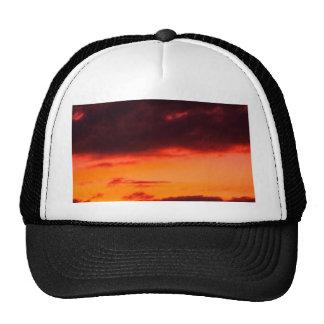 beautiful sky  and  cloud trucker hat