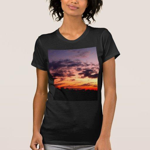 beautiful sky  and  cloud t-shirts